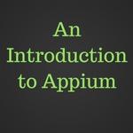 appium tutorial_qaclick academy