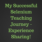 Selenium Training Journey - Automating testing academy