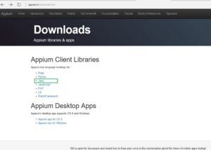 appium downloads